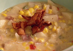 Gina's Spicy Corn Chowder Recipe