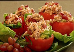 Neely's Chicken Salad in Tomato Cups Recipe