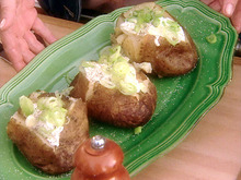 Baked Grilled Potato Recipe