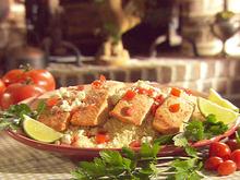 Salmon Fillets over Couscous Recipe
