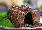 Chocolate Hazelnut Lava Cakes Recipe