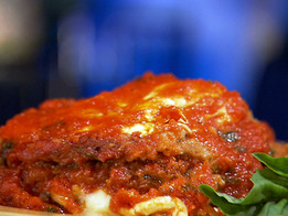 Schirripa's Eggplant Parmigiana Recipe