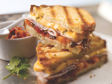 Peachy Keen Panini Recipe