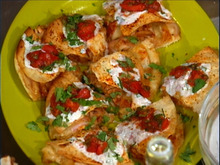 Bbq Chicken Quesadilla with Smoked Tomato Relish and Buttermilk Dressing Recipe