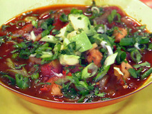Chicken Fajita Tortilla Soup Recipe