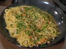 Creamy Spaghetti and Beans Recipe