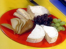 Fresh Fruits and Dessert Cheeses Recipe