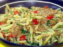 Gemelli with Tuna and Cherry Tomatoes Recipe
