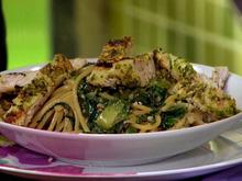 Grilled Chicken with Arugula Pesto Recipe