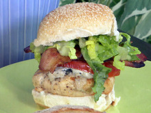 Chicken Cobb Burger Recipe