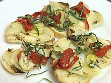 Artichoke Toasts Recipe