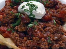 Lightning Chili and Rice Recipe