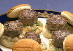 Mini-Venison Burgers Recipe