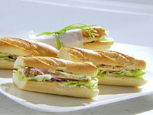 Chicken Cutlet Sandwich with Herb Mayonnaise Recipe