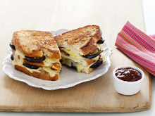 Double-Decker Truffled Grilled Cheese Recipe