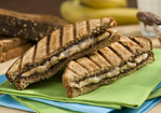Grilled Banana and Nutella Panini Recipe