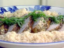 Herbed Pork Roast and Creamy Mushroom Gravy Recipe