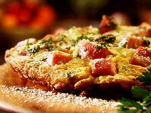 Smoked Ham, Gruyere and Caramelized Onion Frittata Recipe