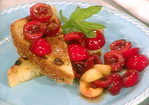 Fresh Cherries with Semolina Toast and Rhododendron Honey Recipe