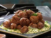 Crispy Twice Cooked New Potatoes with Garlic Aioli Recipe
