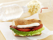 Fresh Mozzarella BLT with Pesto Recipe