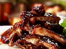 Teriyaki-Glazed Pork Spare Ribs Recipe