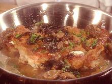 Rosemary and Goat Cheese Stuffed Chicken with Wild Mushroom Sauce Recipe