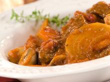 Braised Beef & Mushrooms in Cabernet Sauce Recipe
