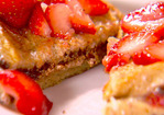 Chocolate and Strawberry Stuffed French Toast Recipe