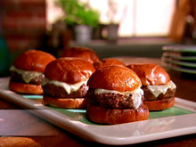 Swiss Cheeseburger Sliders Recipe