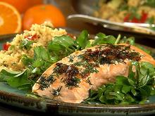 Citrus Baked Salmon Recipe