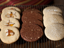 Holiday Cookies: One Dough, Three Holiday Cookies Recipe