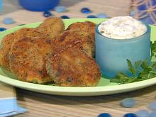 Mini Fishcakes with Dijon Caper Mayonnaise Recipe