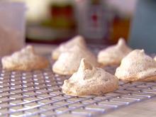 Chocolate-Almond Meringues Recipe