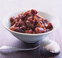 Apple and Cranberry Chutney Recipe