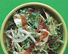 Artichoke, Fennel, and Crispy Prosciutto Salad Recipe