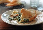 Arugula and Ricotta Calzones Recipe