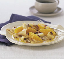 Banana Orange Crepes Recipe