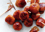 Barbecue Chicken Meatballs Recipe