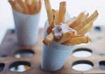 Belgian Fries with Sauce Andalouse Recipe