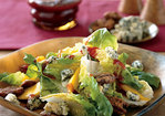 Bibb Lettuce Salad with Persimmons and Candied Pecans Recipe
