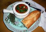 Simple Tomato-Spinach-White Bean Soup Recipe