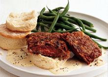 Chicken-Fried Skirt Steak with Country Gravy Recipe