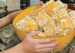 Corn on the Cob with Mint-Feta Butter Recipe