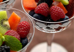Fruit Salad with Herb, Citrus, Mint-Maple, or Basic Syrup Recipe