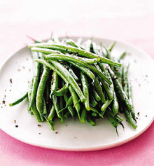 Green Beans with Sesame Vinaigrette Recipe