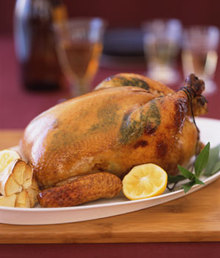 Honey-Roasted Chicken with Lemon and Tarragon Recipe