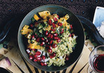 Mango Pomegranate Guacamole Recipe