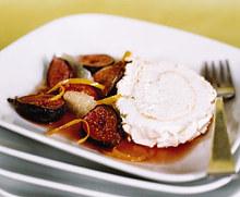 Meringue Roulade with Anise Cream Recipe