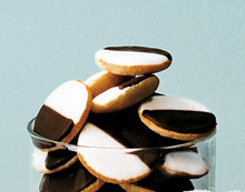 Mini Black-and-White Cookies Recipe